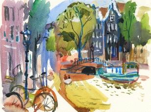 Mykhalevych_Amsterdam_mood_22х31cm
